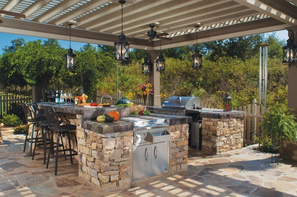 Stearns Design Build & Bring Remodeling Outdoors with an Outdoor kitchen | Stearns Design ...